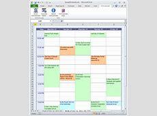 Excel Calendar Schedule calendar template excel