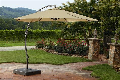 Sears Offset Patio Umbrella by Garden Oasis Yjaf 013 11 5 Ft Steel Offset