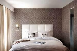 Wandlampen Für Schlafzimmer : tapeten schlafzimmer sch ner wohnen ~ Markanthonyermac.com Haus und Dekorationen