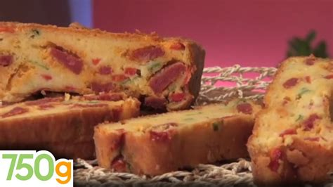 recette de cake au chorizo 750 grammes