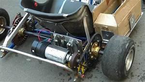 Electric go Kart A123 Systems 10Ah/ 100V - YouTube
