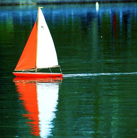 Toy Boat For Lake by Toy Boat Photograph By Anna Szwiec