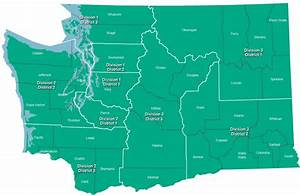 Court of Appeals District Map