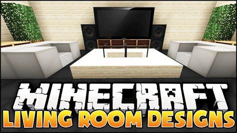 minecraft lounge living room designs ideas