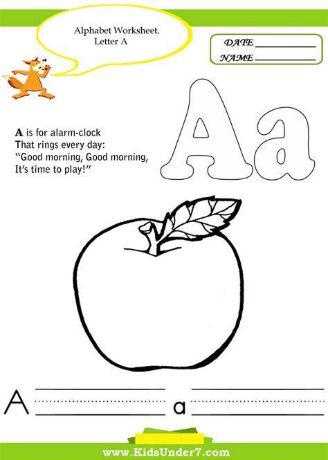 Alphabet Handwriting Worksheets For Kindergarten  Cursive Alphabet Practice Sheets Free K5