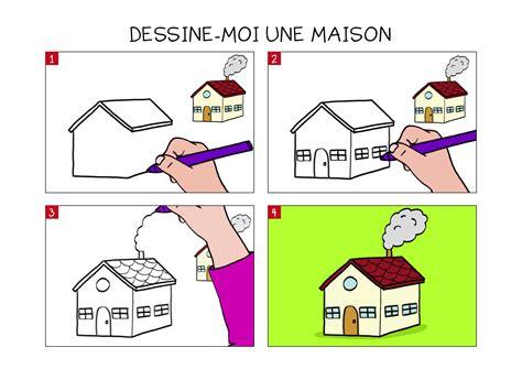 apprendre 224 dessiner une maison en 3 233