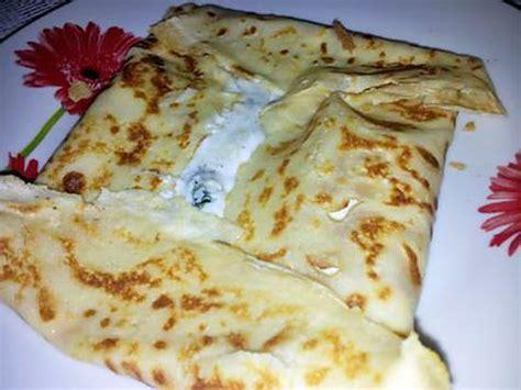 recette de les bonnes cr 233 pes sal 233 au jambon et roquefort de maman pour la chandeleur