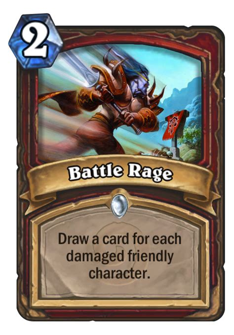 battle rage hearthstone card