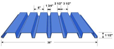 b deck arizona roof deck floor deck 1 1 2 b deck in stock