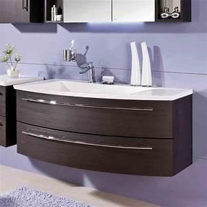 Waschtischunterschrank 120 Cm : puris crescendo waschtischunterschrank 120 x 47 x 48 cm f r waschtisch mit ablage rechts ~ Markanthonyermac.com Haus und Dekorationen