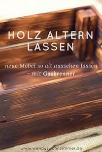 Holz Künstlich Alt Machen : holz altern aus neu mach alt mit fl mmen k nstlich diy anleitungen und holz ~ Markanthonyermac.com Haus und Dekorationen