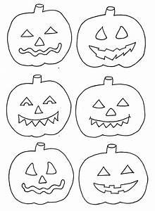 Bemalte Kürbisse Vorlage : halloween basteln vorlage k rbisse zum ausdrucken xobbu ~ Markanthonyermac.com Haus und Dekorationen