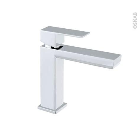 robinet elot mitigeur lavabo salle de bains bec bas sans tirette chrom 233 oskab