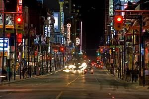 Yonge Street Strip on Sunday night | Kiril Strax | Flickr