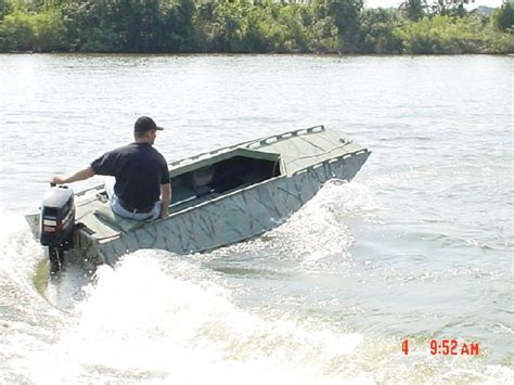 Duck Hunting Boat Build by Duckhunter Wooden Boat Plans