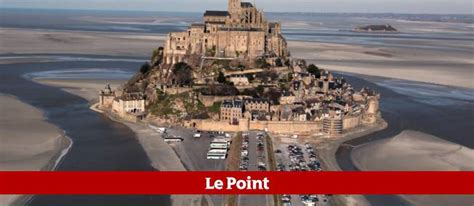 le mont michel lib 233 r 233 des voitures le point
