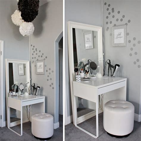 Ikea Bedroom Vanity by Diy Ikea Dressing Area For Tiny Bedrooms Home Design And