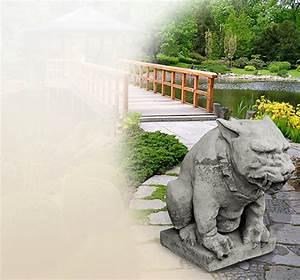Bilder Für Den Garten : mystische gargoyle statuen f r den garten aus steinguss kaufen ~ Markanthonyermac.com Haus und Dekorationen