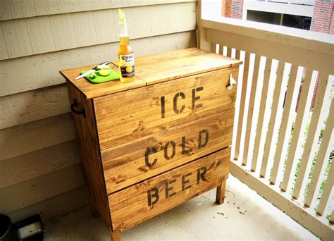 Hack A Set Of Ikea Drawers Into A Stylish And Functional Beer Chest