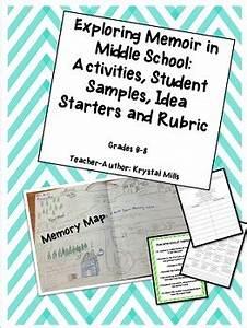 Exploring Memoir in Middle School (Activities, 20 Idea ...
