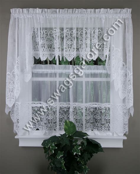 valerie kitchen curtains swags valances tiers united curtains sheer kitchen curtains
