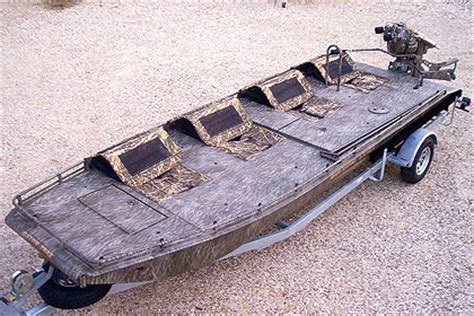 Duck Hunting Boats Made In Ohio by Gator Trax Gator Hide