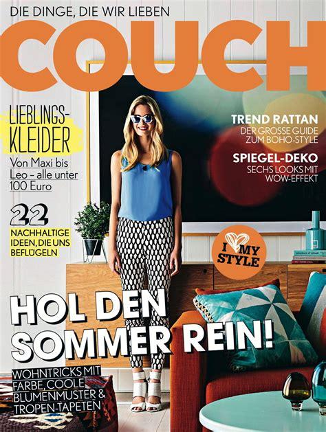 Couch Ruft Großen Designmonat Aus Redaktionelle Specials