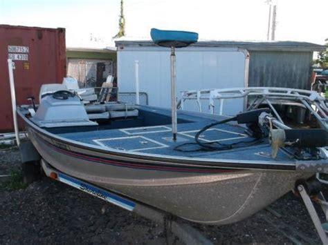 Older Model Deck Boats by Used Aluminum Boats Ebay