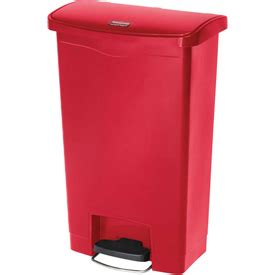 garbage can recycling free rubbermaid 174 slim