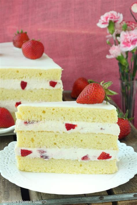 strawberry shortcake with food cake strawberry shortcake cake recipe