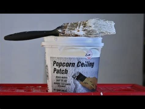 easy way to patch a popcorn ceiling dashblogs