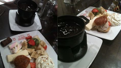 manger une bonne fondue savoyarde et ou raclette sur c est au chalet savoyard dans le