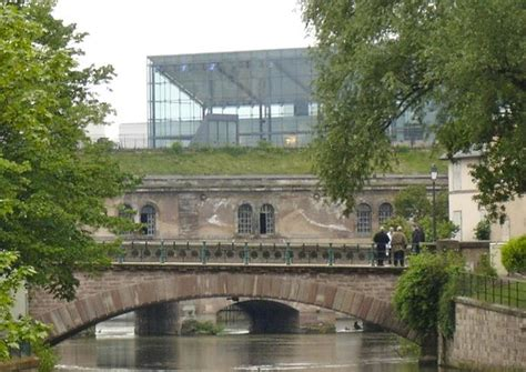 mamc strasbourg view from barrage vauban picture of musee d moderne et contemporain