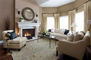 Jane Lockhart Formal Living Room - Traditional - Living ...