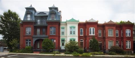 Free Photo Row Houses, Washington Dc, City  Free Image