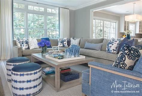 Gray Sectional With Blue Accents Stone Flooring Inside And Out Laminate Price Sabah Commercial Hemel Hempstead Bathroom Help Engineered London Ontario Prefinished Hardwood Cheap Milton Keynes How To
