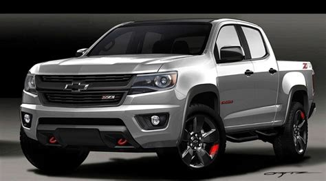 2019 Chevy Colorado Redesign, Release Date  2018 2019