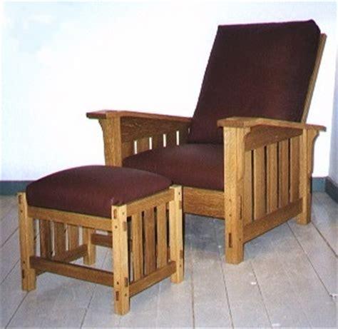 pdf diy woodworking morris chair plans end