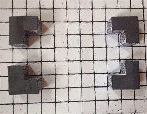dungeon tiles inked adventures blocks 3d papercraft