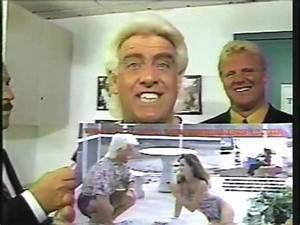 "Ric Flair's classic ""Damaged Goods"" Promo - Wrestlemania 8 ..."