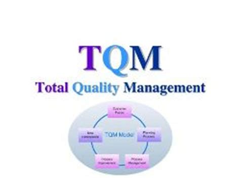 mysource1 is a on quality concepts discussion total quality management the modern
