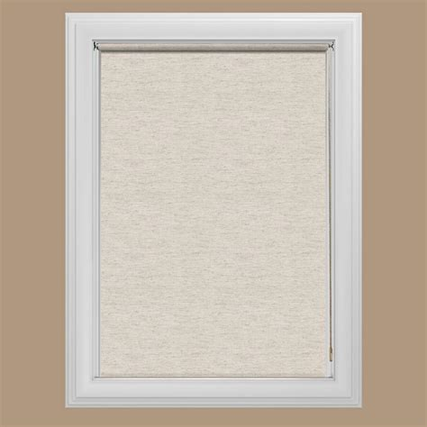 Light Filtering Curtain Fabric by Bali Cut To Size Oatmeal Light Filtering Fabric Roller