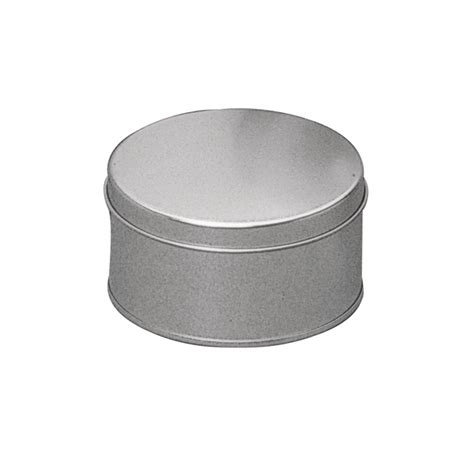 boite metal ronde zinc taille 16cm maison pratic boutique pour vos loisirs creatifs et votre