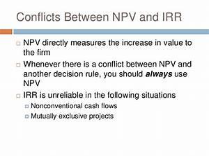Net Present Value - NPV
