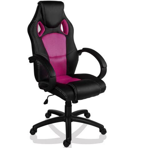 fauteuil de bureau sport racing noir et