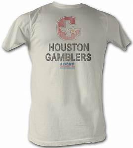 USFL Houston Gamblers T-shirt Football League Adult ...