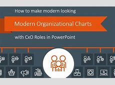 How to Make Modern Organizational Chart in PowerPoint