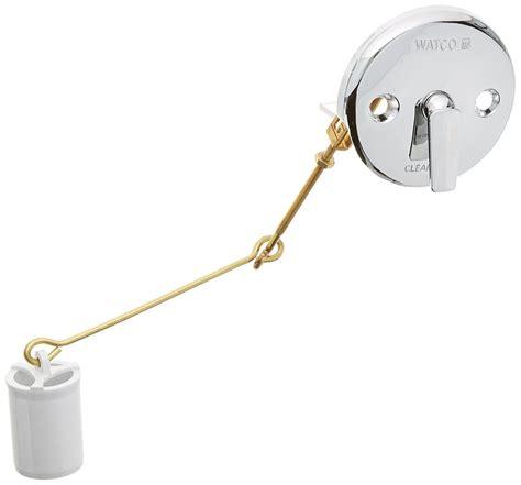 a stuck trip lever drain stopper