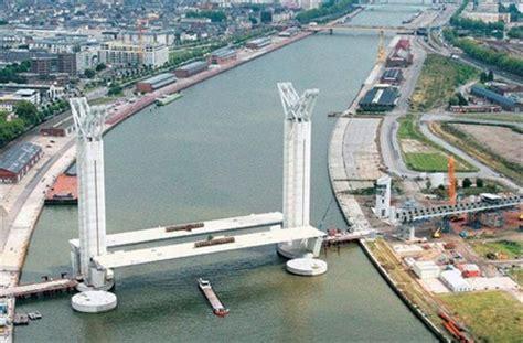 rouen 76 un pont levant pour la cit 233 rouennaise