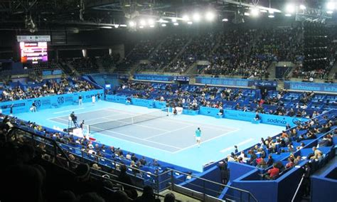 gl events transforme le palais des sports de marseille pour l open13 smash marketing